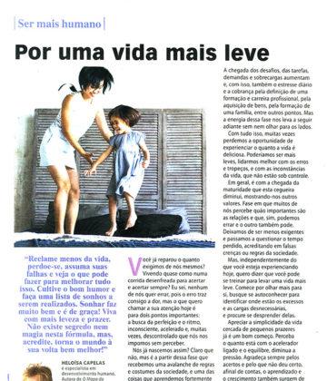 Revista Ana Maria – Por uma vida mais leve