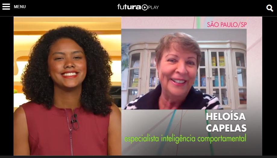 """O programa Conexão Futura entrevista Heloísa Capelas sobre a """"geração procrastinadora"""""""
