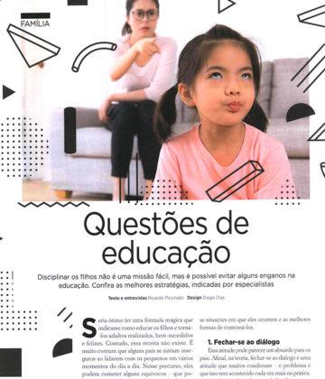 Questões de educação: Disciplinar os filhos não é fácil